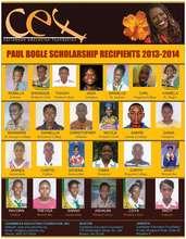 CEF 2013 Scholarship Recipients