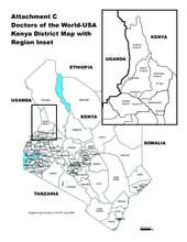 Map of the North Pokot District in Kenya (PDF)