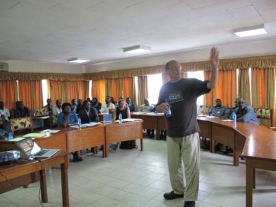 Tom discusses the benefits of a cocoa study center