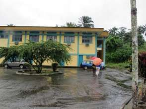 One of three buildings to house the center