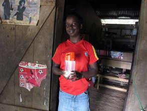Donation of Solar Lights to Bafia
