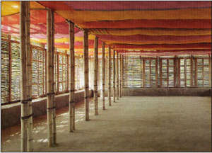 Upstairs of the Proposed Cocoa Study Center