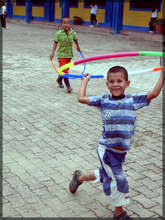 Kid playing