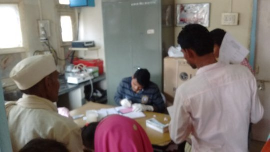 LAB WORK IN TRIBAL AREA