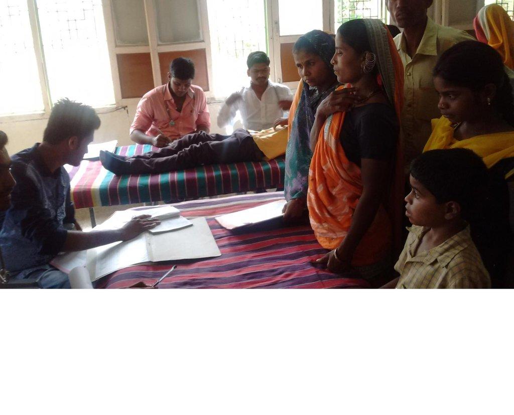 medical checking camp