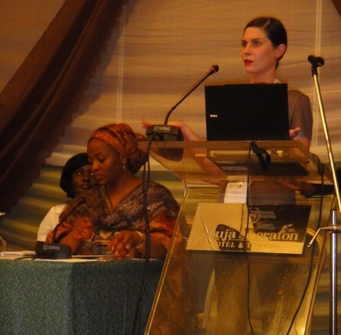 Founder Warren speaks at Global Shea Event, Abuja.