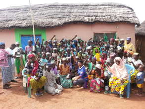 A great big THANK YOU from the Gbanga Women