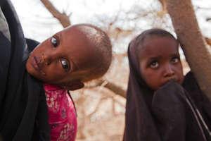 Dahira, 11, and her brother, Mahad, 2