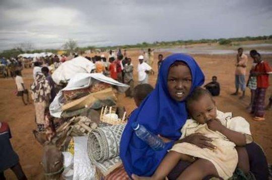 Somali Refugee children in Dadaab. UNHCR/B.Bannon