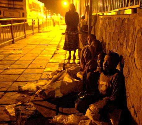 Street children - Addis Ababa