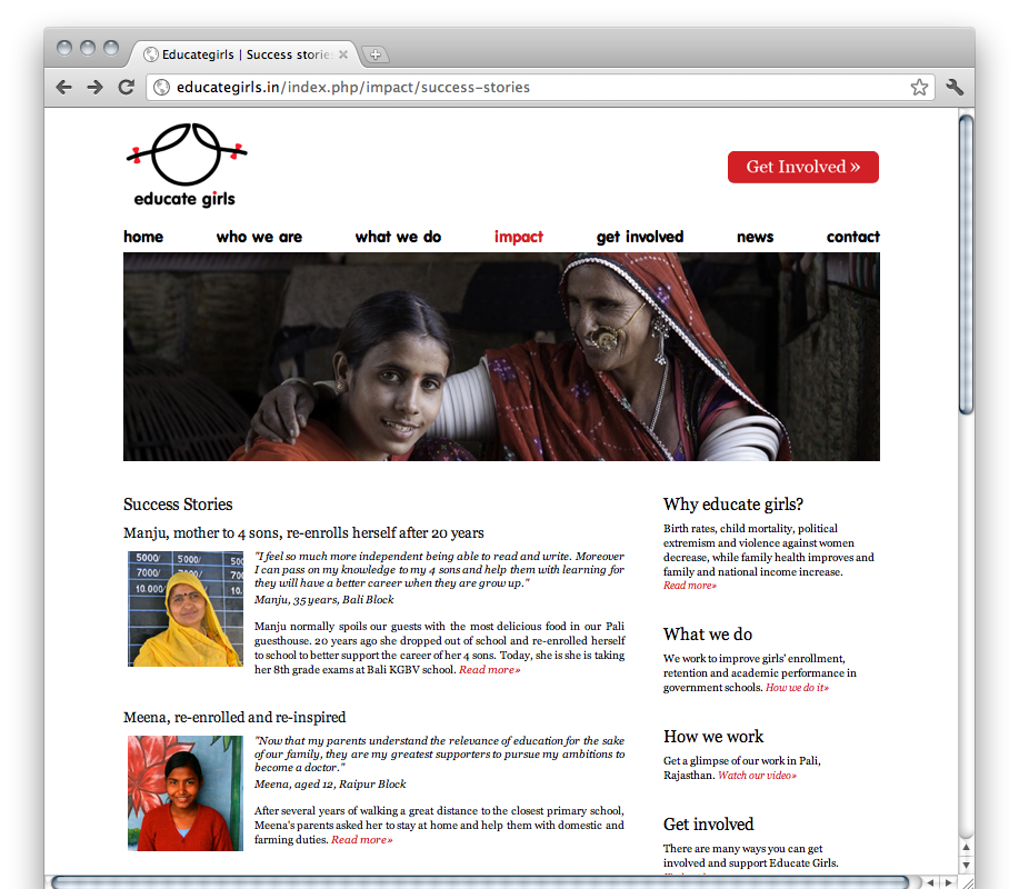 Educate Girls | Success Stories