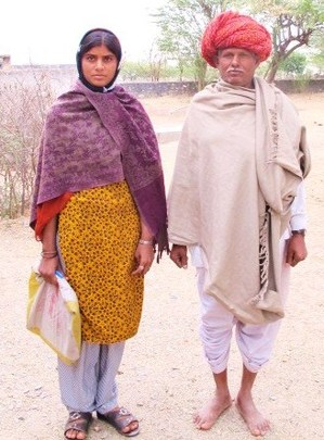 Sukhi with her Father