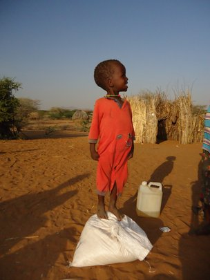 Food distribution, Kenya