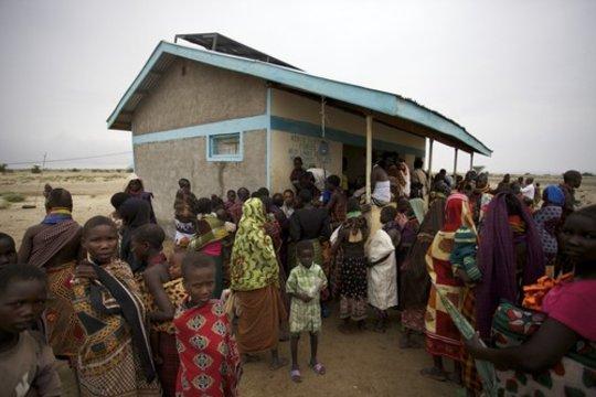 Kerio Merlin Stabilization Center, Turkana, Kenya
