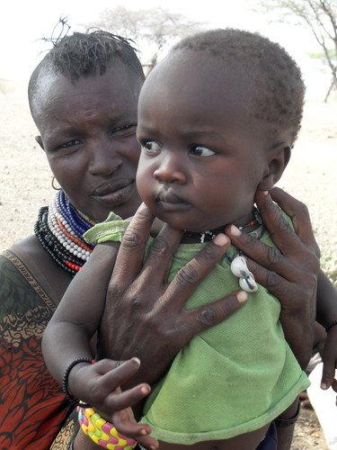 Echwa Apoa & her daughter Akope