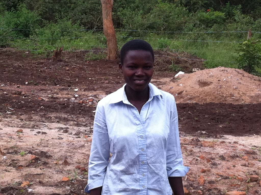 Martha, a student at the ACCESS school