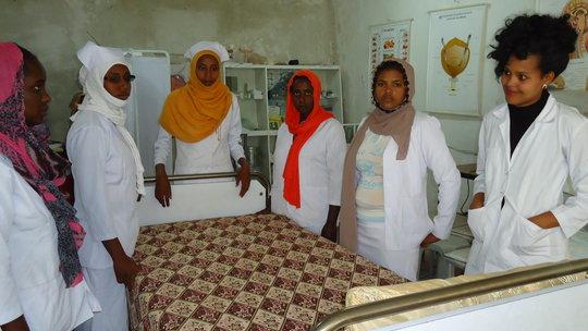 Nursing Students at Work