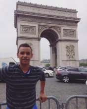 Juan in his day in Paris