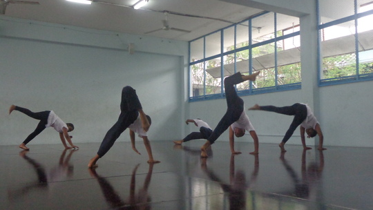 Contemporary dance piece