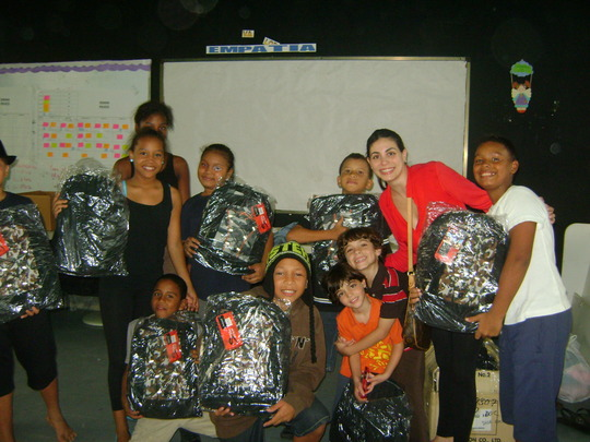 Back-pack donation for the new school year