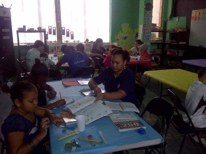 Saturday Tutoring with HP volunteers
