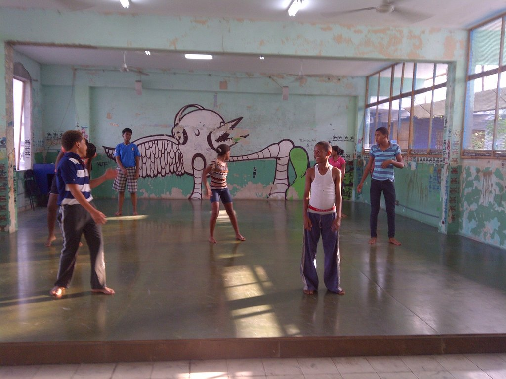Teacher Assistants to a class for Aprojusan