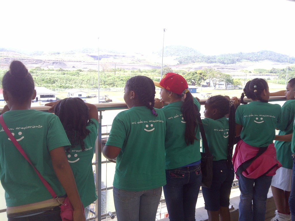 At the Miraflores Visitor Center, Panama Canal