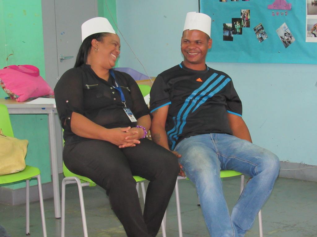 An Enlaces Parents Club Couple
