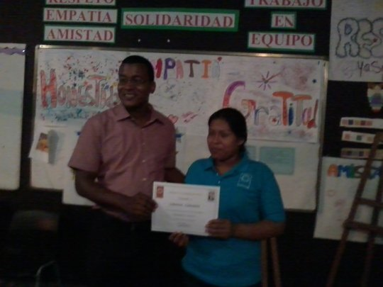 Livanea receives Certificate of Accomplishments