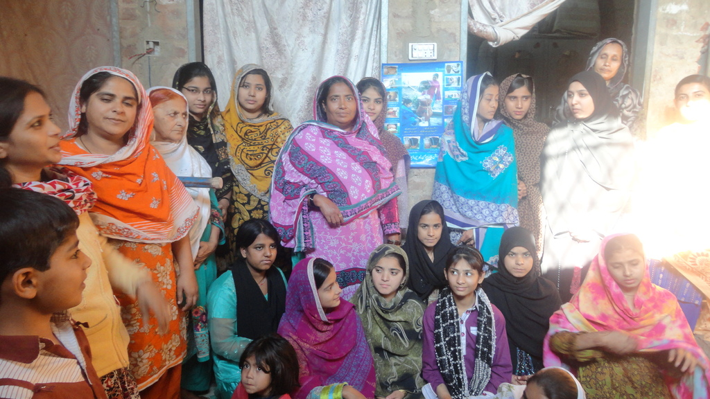Young women and girls selected for girl project