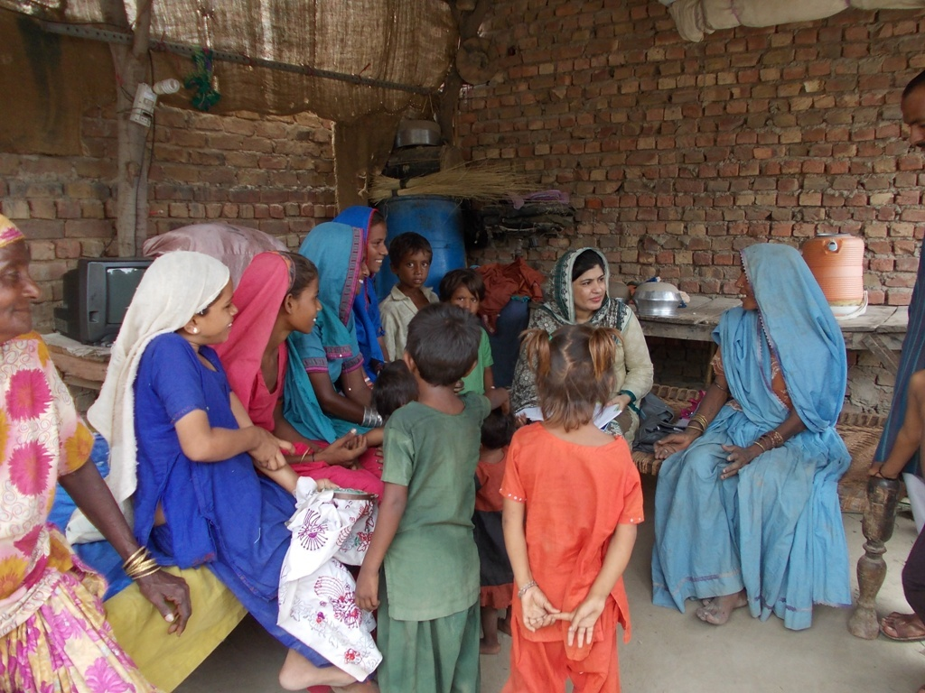 Families visited to ensure gilrs education