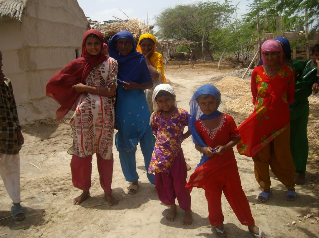 Girls seclected from rural areas