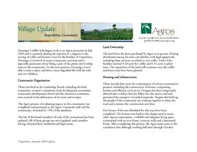 Trapichitos_Village_Update_Autumn_06.pdf (PDF)