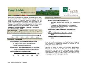 Villa Linda Update Summer 2011 (PDF)