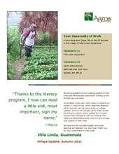 Villa Linda Village Update (PDF)