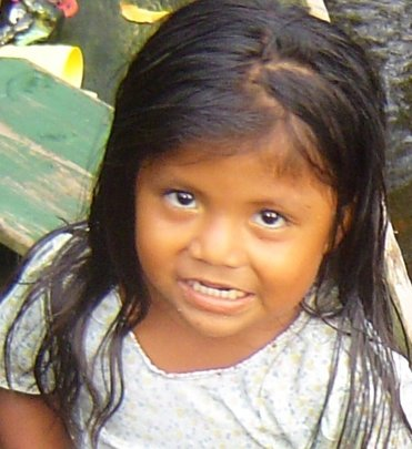 One of thousands of indigenous children we help