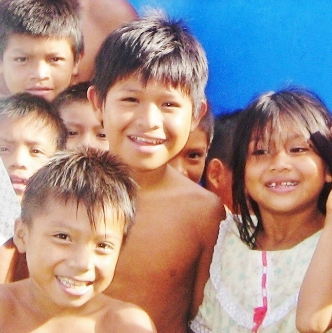 Healthy indigenous children now have safe water