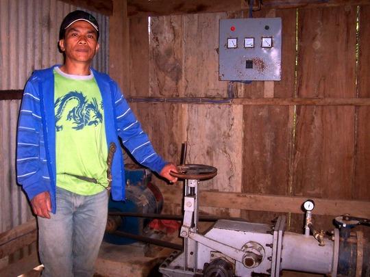 Rudy Lasoy, Chairman of Kimbutan Farmers