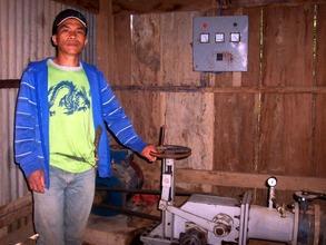 Rudy Lasoy, Chairman of Kimbutan Farmers' Org