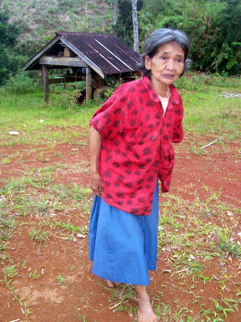Nanay Martina Wadingan, one of the Kimbutan elders