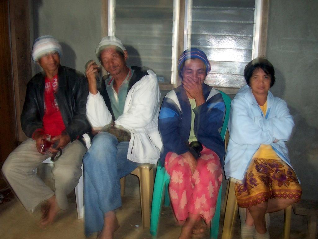 Kimbutan elders during project meeting