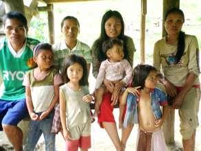 Blaan Villagers in