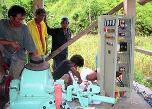 Wiring the microhydro powerhouse