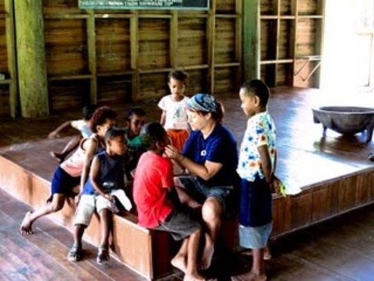 Holiday school in Fiji