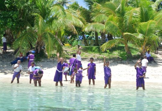 Children from the school