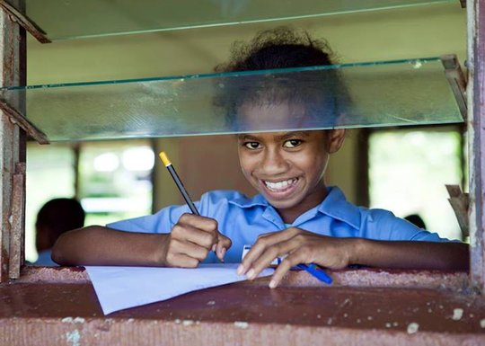 Education for underprivileged children in Fiji