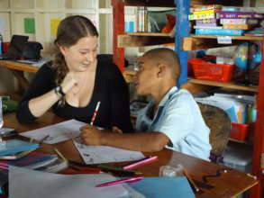 Working with children in Fiji