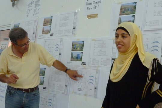 Presentation of first draft home designs