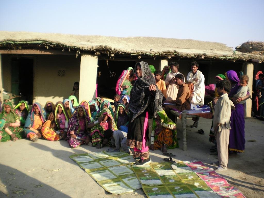 Monitoring visit by AHD staff
