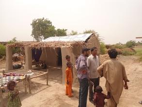 New house prepard in June 2012 in Flood affected